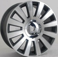 T204 car wheel rim with 18 inch 5x100 108 112 car alloy wheels fit for honda ben*z vw wheels tire