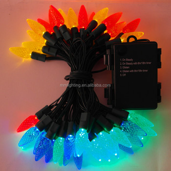 Battery powered LED fairy string lights