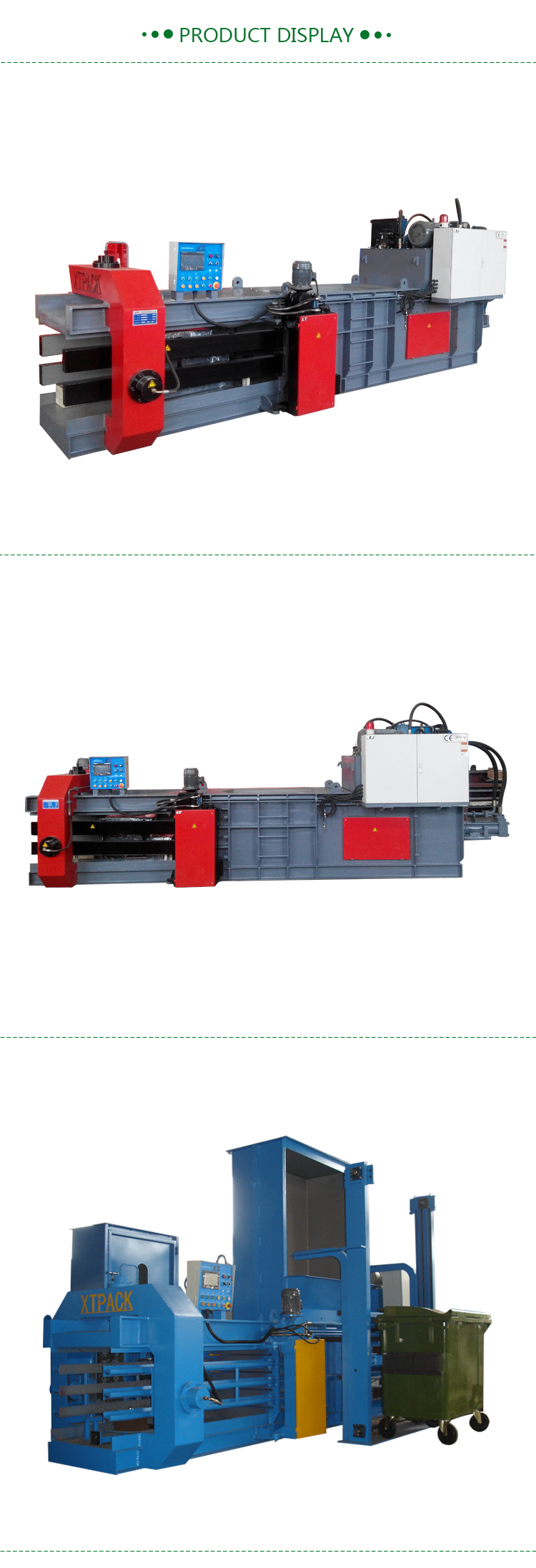 Hydraulic Baler for Scrap Paper