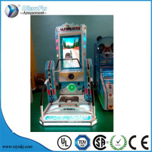 2016 hot sell simulator skating game coin operated stack washer dryer commercial laundry machine for philippines market