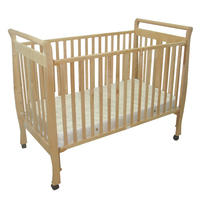 Western 3 in 1 New Zealand custom foldable wooden baby crib