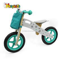 Wholesale beautiful baby wooden training balance bike with best price W16C194