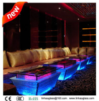 night club lighting illuminated led table, manufacturer in foshan
