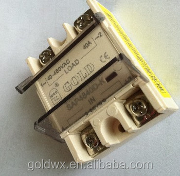 Flip type solid state relay,easy installation, NEW DESIGN