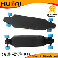 Hot Bamboo Fiber Glass material 4 wheels hoverboard electric skateboard for sale 1800w electric longboard cheap price