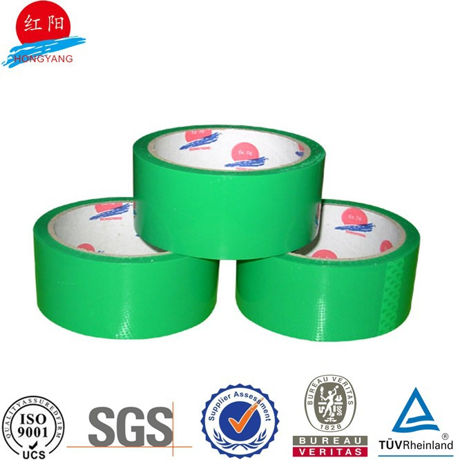 bopp acrylic green 24mm 50m adhesive color tape