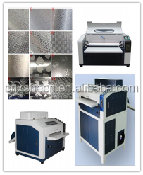 High technology standard UV varnish embossing machine, uv printer machine