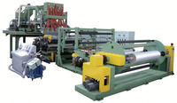 cast stretch film machine/high speed extrusion line plastic extruder machine sale