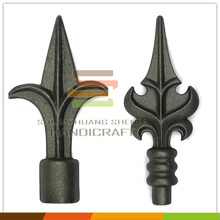 China factory cast fence ornaments wrought iron spears
