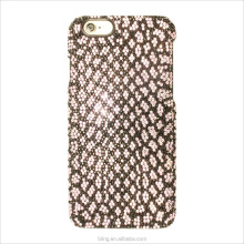 New Arrival Snake skin Hard diamond case For iPhone 5s 5g 6p For Girl