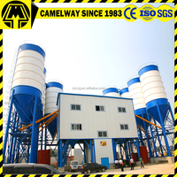 Lastest technology cement recycling concrete mixing plant HZS120