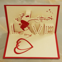 2016 New Import China Goods Unique Invitation Cards For Wedding