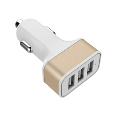 Super fast 3 ports usb car charger,for macbook pro power