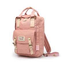 hot sale outdoor fashion printing canvas fabric backpack bag custom laptop backpack