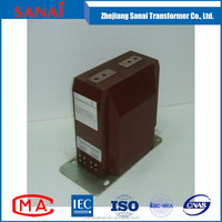 single phase earthing protection voltage transformer , small high voltage transformer