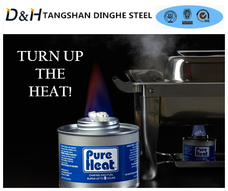 Tangshan Dinghe long-lasting Odourless hot-pot fuel for camping