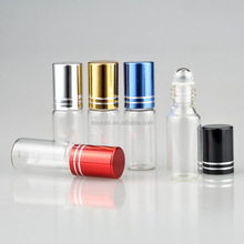 Wholesale 5ml Refill Portable Glass Essential Oil Travel Roll On Bottle