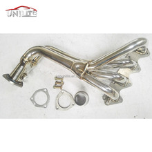 Exhaust pipe Headers for Suzuki Samurai &amp; Geo Tracker 1.3L 1.6L L4 Stainless Manifold Header <strong>w</strong>/ Gasket
