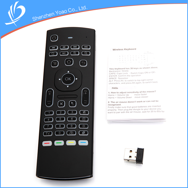 Flexible Mini Waterproof PC Gaming Keyboard Remote Control Fine Price