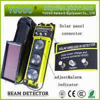 china alarm system solar beams infrared detector security