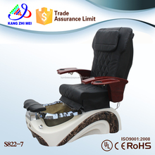 2017 wholesale used beauty nail supply shiatsu massage t4 spa pedicure chairs s822-7