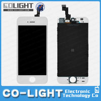 Best price for iPhone 5S lcd with digitizer touch screen, for iphon 5s lcd assembl oem qualiti