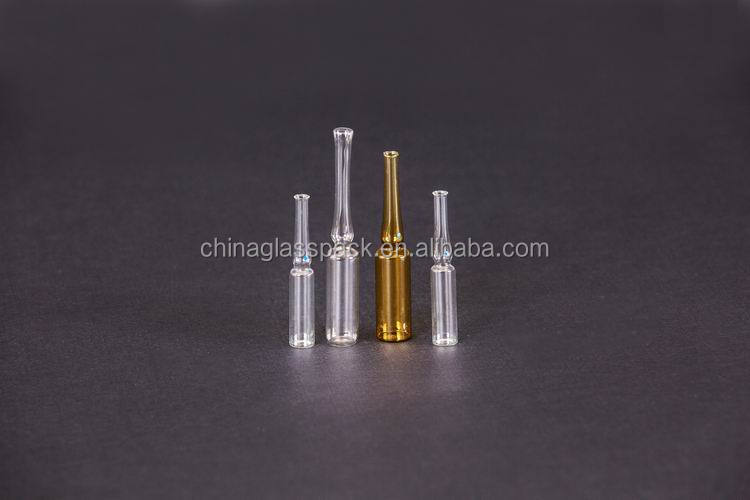Low borosilicate glass ampoule