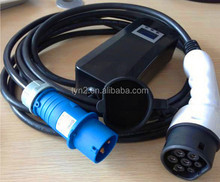 IEC 62196 type 2 EV car charging connectors and cable For EV Charging