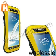 LOVE MEI Metal Waterproof Case for Samsung Galaxy Note 2 N7100