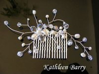 Hair comb - Willow 002 wedding bridal hair accessories