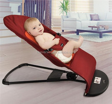 Baby Bouncer Balance Soft Black Cotton Kids Home Chair made in China