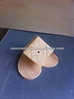 elegant wooden spices box with hole