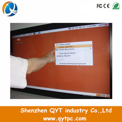 QYT Big Size 72 inch LCD monitor with 110V to 240V input