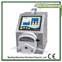 Branded contemporary stylish industrial peristaltic pump filler