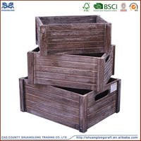 2015 new designed wooden crates wholesale cheap wooden fruite crates for sale