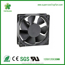 12038 120mm dc brushless fan, 2800rpm 12V 6W high rpm air cooling fan