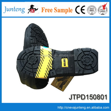 Customized antique anti slip blue hammer safety shoes