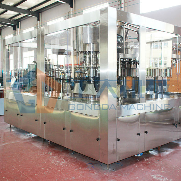 sparkling water bottling line 10000BPH