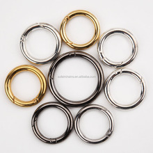10 mm jewelry findings stainless steel round spring ring