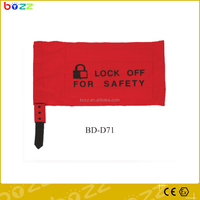 Wear-resisting driving controller lockout bag with Warning labels
