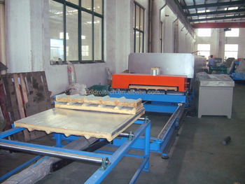PU Sandwich Panel Continuous Discontonous Making Machine Production Line