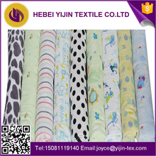 china textile manufacturing for baby blanket 100%cotton reactive printing flannel fabrics