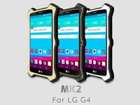 New LOVE MEI MK2 Waterproof Shockproof Dirtproof Snowproof Aluminum Hard Metal Cover for LG G4 case with Glass Screen