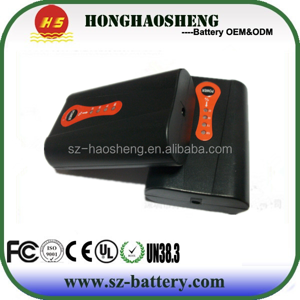 Wholesales for heated clothes/gloves/belt rechargeable 7.4v 2200mah Li-ion Heat Battery
