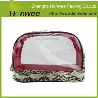 organic plain travel makeup bag