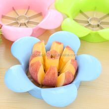 Q050 Multifunctional flower shape high quality Stainless steel fruit cutter