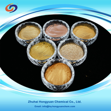 Golden series pearl effect pigments for cosmetics