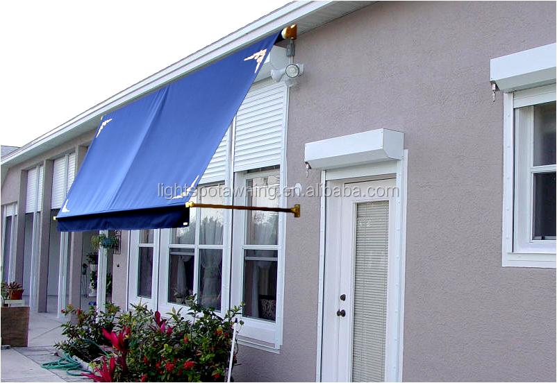 Peque o de aluminio barato ventana toldo plegable patio for Toldos para patios pequenos