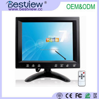 4 wire resistive touch screen 8 inch tft lcd monitor