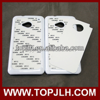 PC Case Sublimation printing for HTC One M7 sublimation phone cover